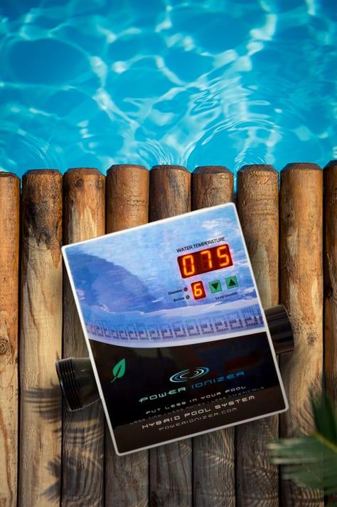 Pool Ionizer on Deck